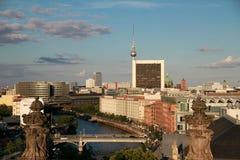 Opinião de Berlim Fotos de Stock Royalty Free