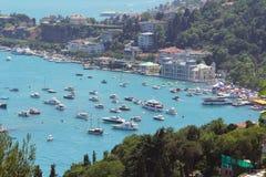 Opinião de Bosphorus, Istambul, Turquia Imagens de Stock