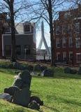 Opinião de Boston Imagem de Stock Royalty Free