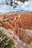 Opinião de Bryce Canyon do ponto do por do sol Foto de Stock Royalty Free