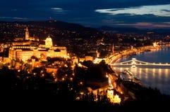 Opinião de Budapest Fotos de Stock Royalty Free