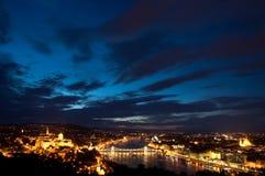Opinião de Budapest Fotografia de Stock