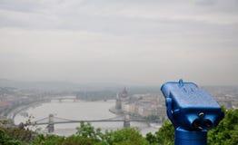 Opinião de Budapest Imagens de Stock Royalty Free