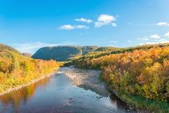 Opinião de Cabot Trail Scenic Foto de Stock