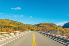 Opinião de Cabot Trail Scenic Imagem de Stock