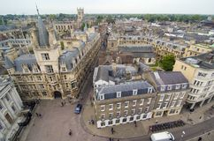 Opinião de Cambridge foto de stock