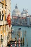 Opinião de canal grande de Veneza, Italy imagem de stock royalty free