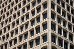 Opinião de canto do prédio de escritórios foto de stock royalty free