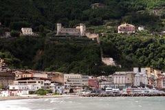 Opinião de Castellammare Foto de Stock