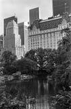 Opinião de Central Park Fotografia de Stock