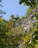 Opinião de Cliffside Fotografia de Stock