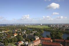 Opinião de Copenhaga Foto de Stock