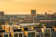 Opinião de Copenhaga Fotografia de Stock