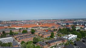 Opinião de Copenhaga foto de stock royalty free