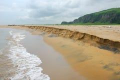 Opinião de costa de mar Imagem de Stock