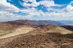 Opinião de Dante's - parque nacional de Vale da Morte, Califórnia, EUA Imagem de Stock