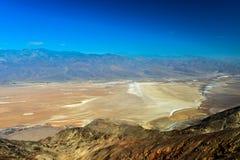 A opinião de Dante, o Vale da Morte Fotos de Stock Royalty Free