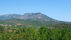 Opinião de Demerji da montanha Fotografia de Stock