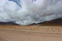 Opinião de deserto de Atacama Imagens de Stock