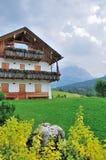 Opinião de Dolomiti em Itália Imagens de Stock Royalty Free