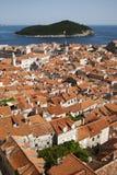 Opinião de Dubrovnik Imagens de Stock