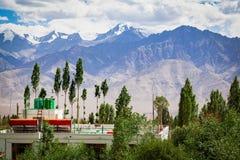 Opinião de Everest de Leh Ladakh Imagens de Stock Royalty Free
