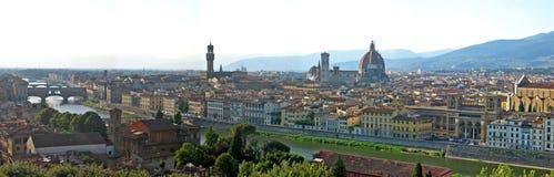 Opinião de Florença Imagem de Stock