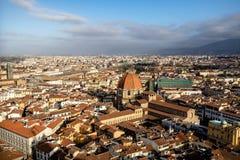 Opinião de Florença da torre de Bell Foto de Stock Royalty Free