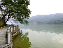 Opinião de Fu Chun River fotos de stock