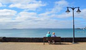 Opinião de Fuerteventura Imagem de Stock