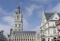 Opinião de Ghent Fotos de Stock