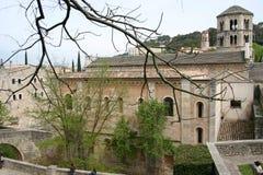 Opinião de Girona Imagens de Stock Royalty Free