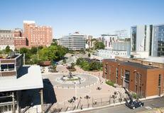 Opinião de Halifax foto de stock
