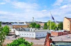 Opinião de Helsínquia, Finlandia imagens de stock