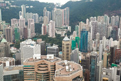 Opinião de Hong Kong Imagens de Stock