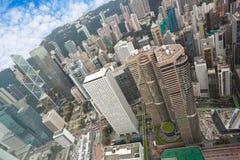 Opinião de Hong Kong Fotos de Stock