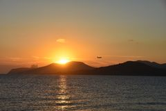 Opinião de Ibiza fotos de stock royalty free