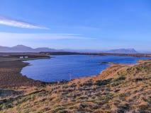 Opinião de Islândia - fiorde fotos de stock royalty free