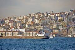 Opinião de Istambul Fotos de Stock