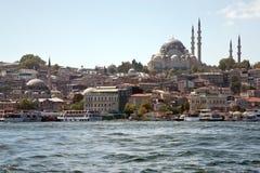 Opinião de Istambul fotos de stock royalty free