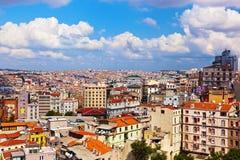 Opinião de Istambul Turquia fotografia de stock