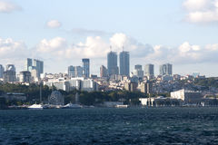 Opinião de Istambul Turquia Fotografia de Stock Royalty Free