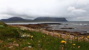 opinião de 4K UltraHD Timelapse da praia de Warbeth, Orkney, Escócia filme