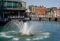 Opinião de Kingston Upon Hull fotos de stock