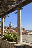 Opinião de Lisboa imagem de stock royalty free