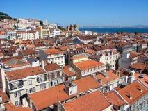 Opinião de Lisboa Fotos de Stock