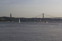 Opinião de Lisboa Imagem de Stock