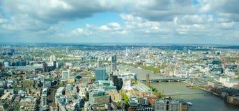 Opinião de Londres Fotografia de Stock