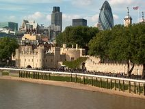 Opinião de Londres Imagens de Stock Royalty Free