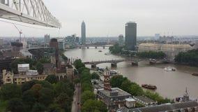 Opinião de Londres Thames River, Reino Unido Imagem de Stock Royalty Free